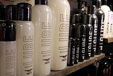 Shop for Mister B Lubes at the Men's Room Toronto