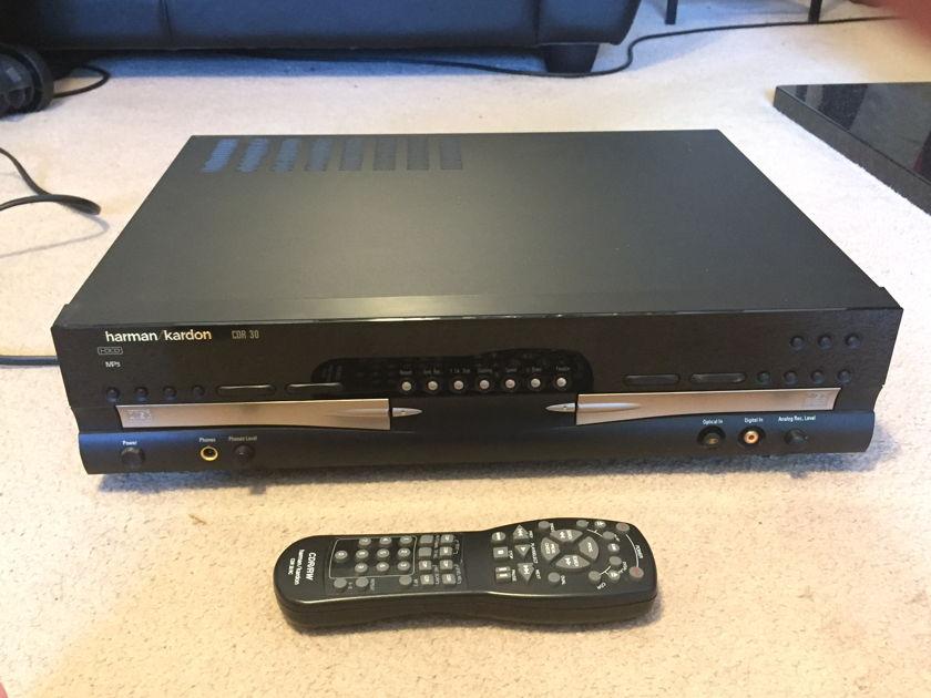 Harman Kardon CDR-30 CD player & recorder RARE