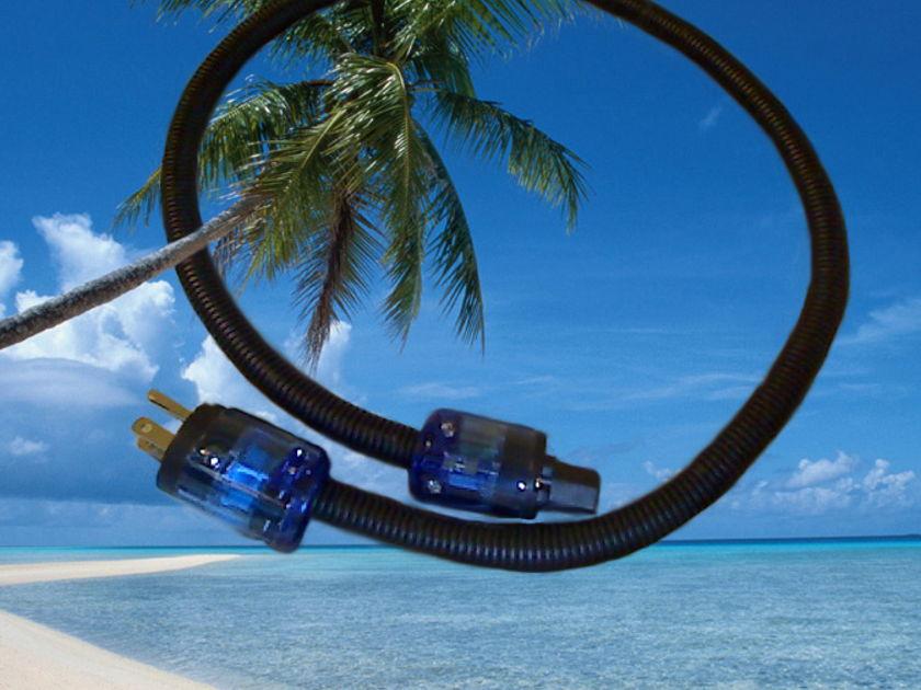 Coconut-Audio Paradise Power 1m (transparent paradise island)