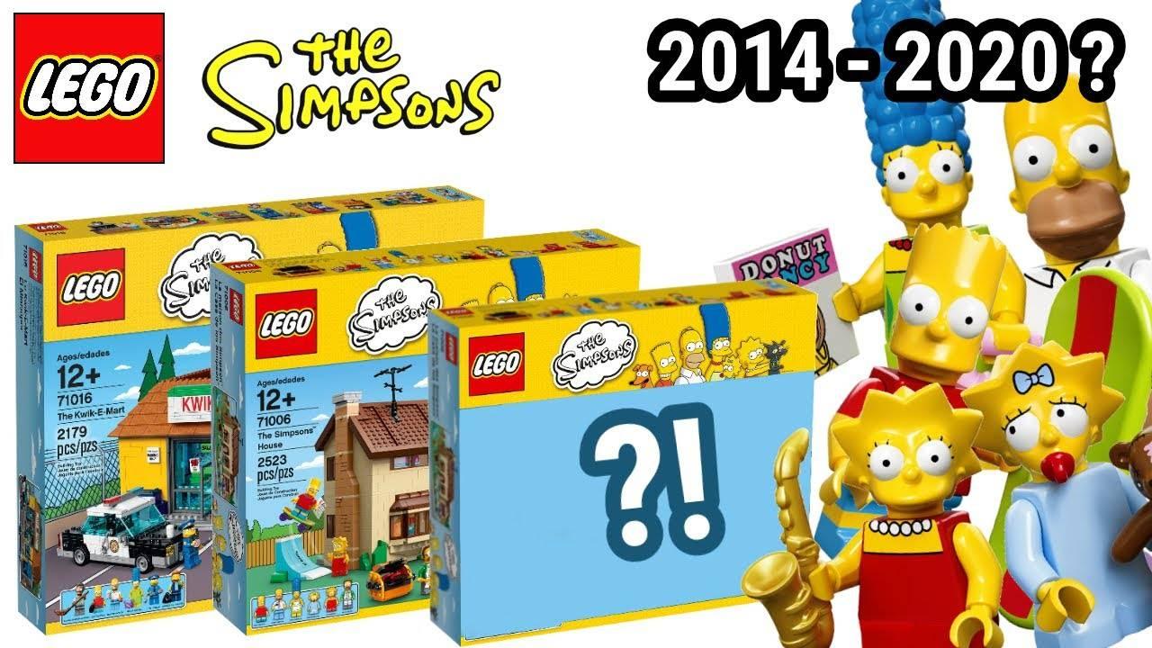 lego simpson set 2020
