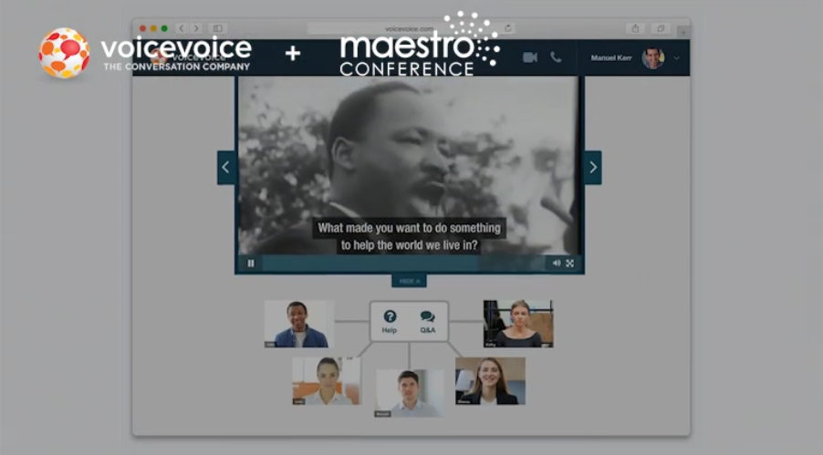 VoiceVoice + MaestroConference