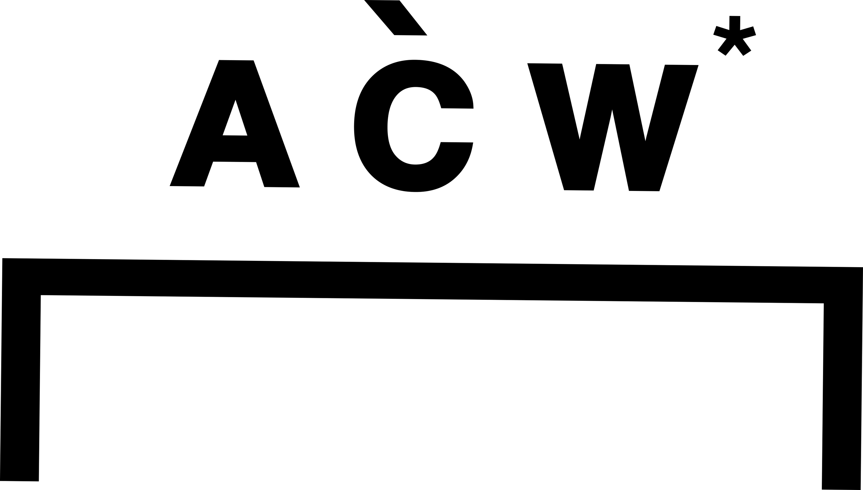 A Cold Wall* Logo SS18 Hlorenzo