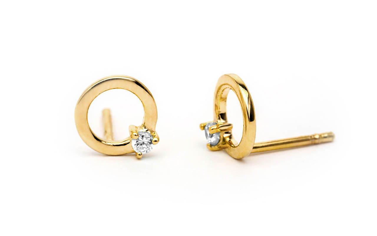 Jumna studs Sceona fine jewellery