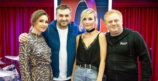 Полина Гагарина дала живой концерт в рамках «Золотого микрофона» на «Русском Радио» - Новости радио OnAir.ru