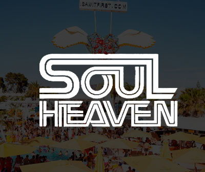 Ibiza Pool party Soul Heaven, calendario fiestas O beach Ibiza