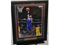 Allen Iverson Autographed and Framed 16x20 Print