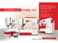​Bernina 215 Simply Red Sewing Machine