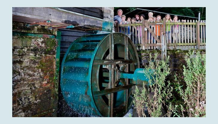 lvr industriemuseum oelchenshammer wasserrad