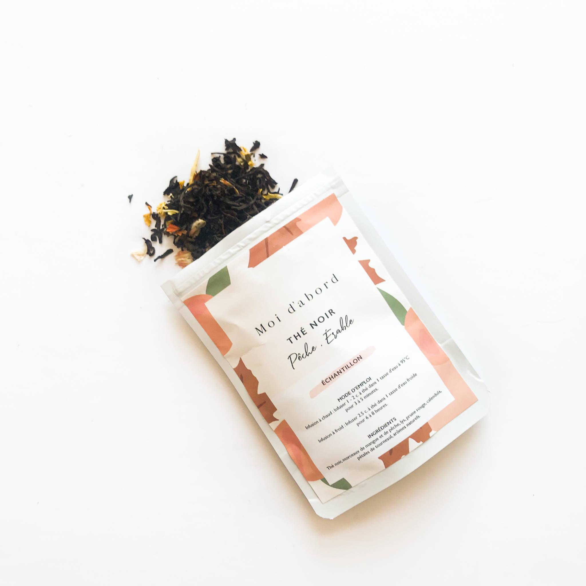 sirop d'érable lavande thé chai