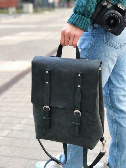 Рюкзак городского типа из натуральной кожи