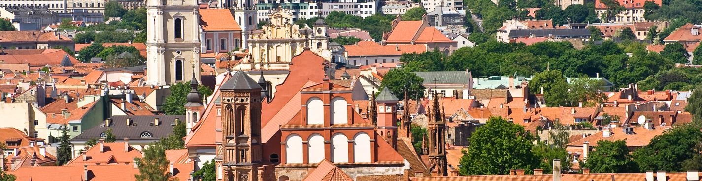 Обзорная пешая экскурсия по Старому Вильнюсу