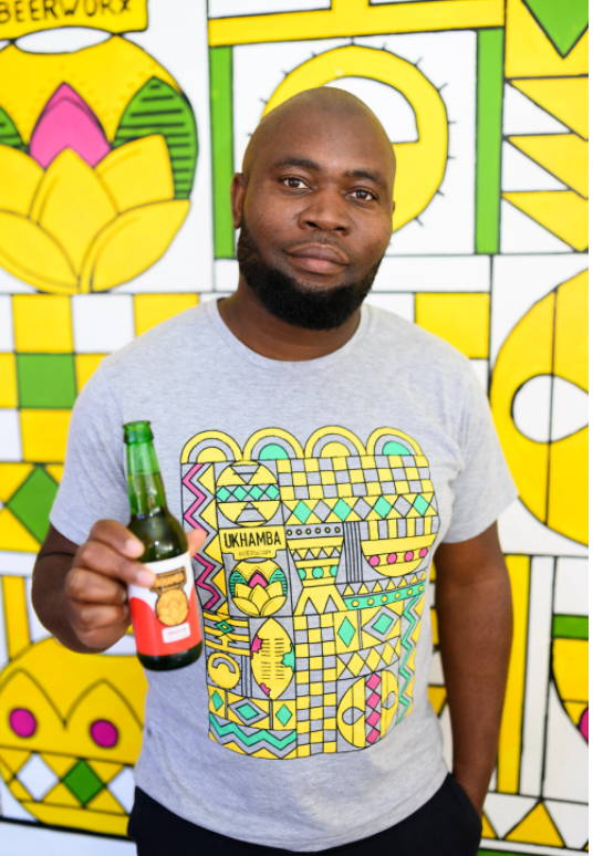 Lethu Tshabangu Ukhamba Beerworx Founder