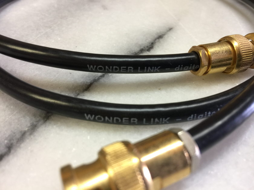 Mod Squad Wonderlink BNC/BNC Digital Cable - (1) meter - RARE!