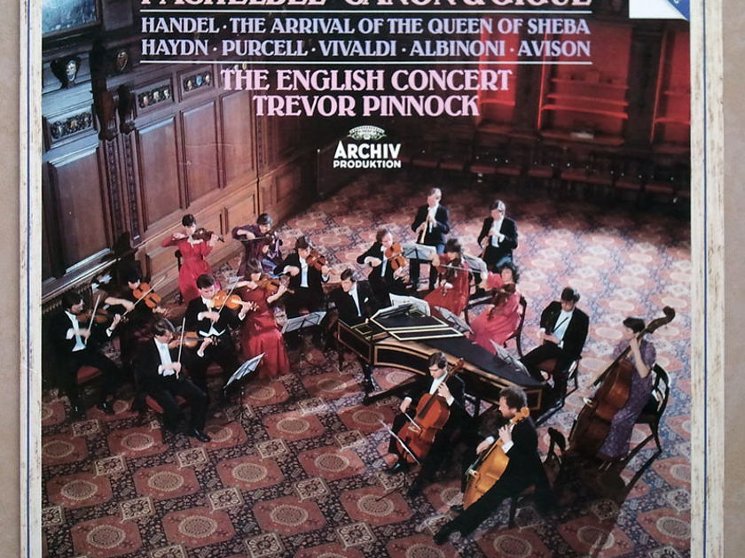 Archiv Digital/Pinnock/Pachelbel - Canon & Gigue / Handel The Arrival of the Queen of Sheba / NM