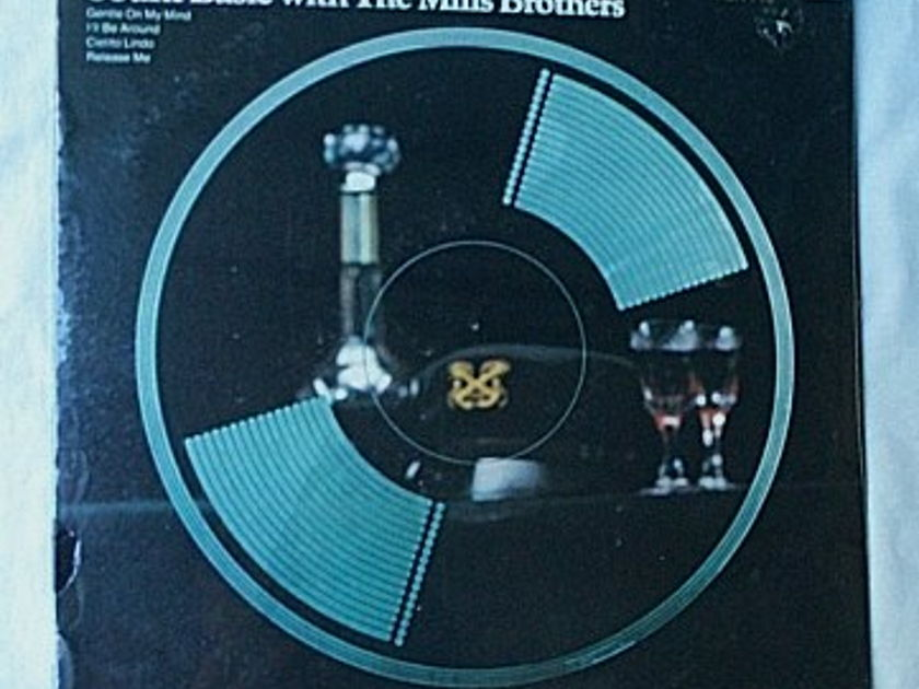 Mills Brothers LP-With Count Basie - orchestra-orig 1975 SEALED album- superb vocal harmonies