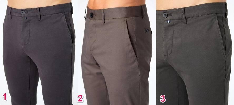 Gray Chino Pants
