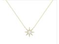 Starborn Diamond and Topaz Necklace by Ele Keats Jewelry