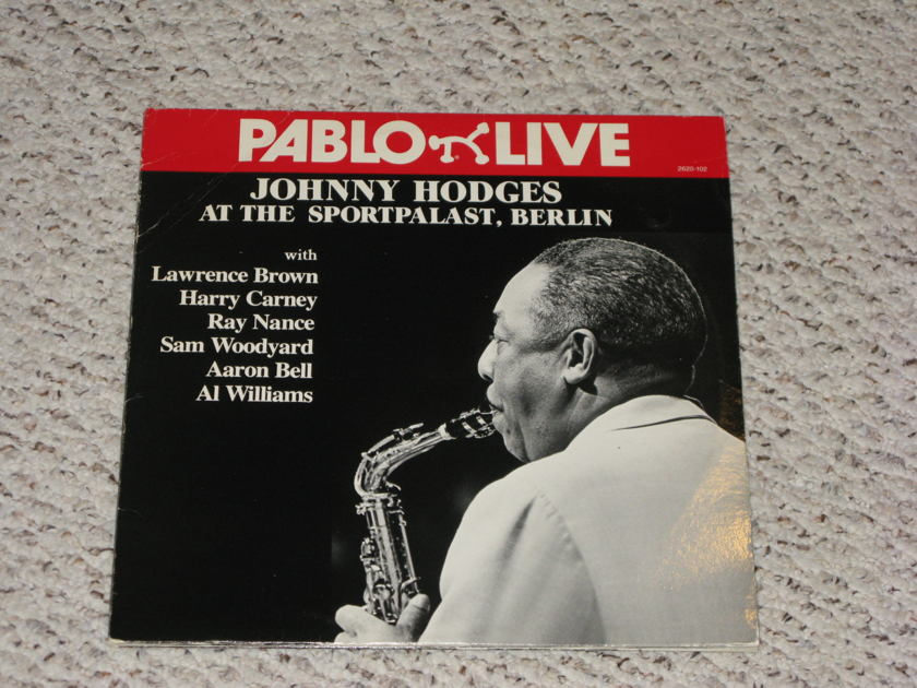 Johnny Hodges - At the Sportpalast, Berlin Pablo Live double LP PRICE BREAK