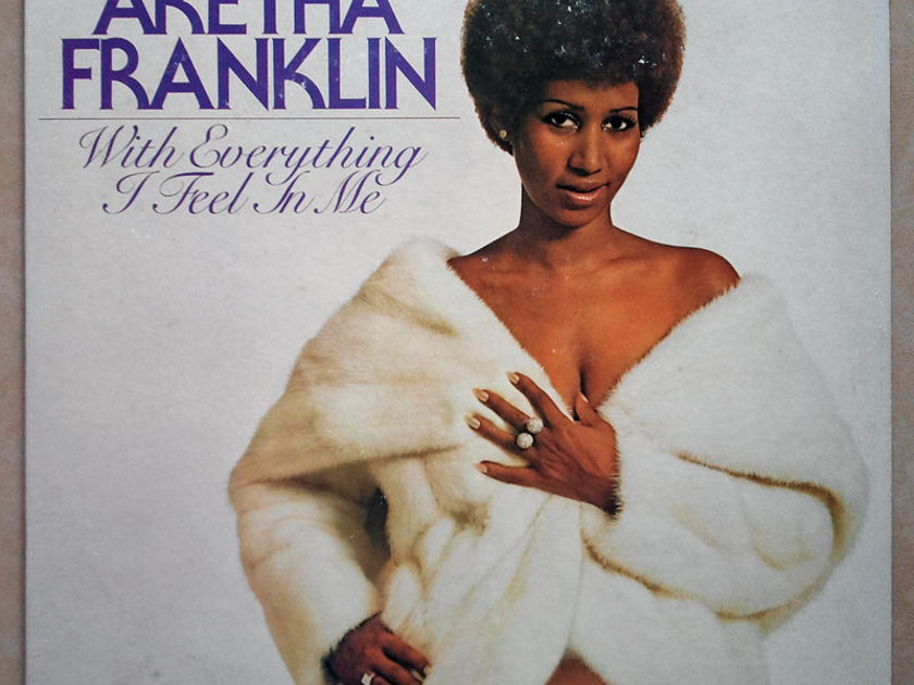 Aretha Franklin - - With Everything I Feel in Me / EX