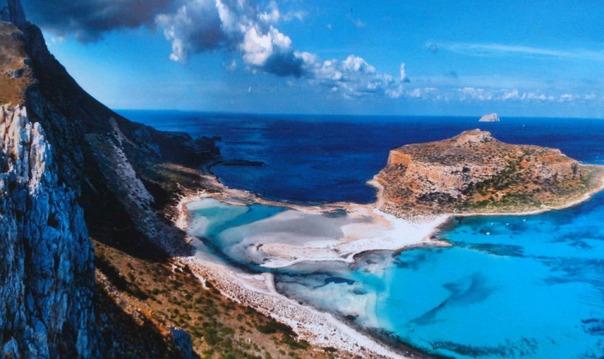 Тур из Ретимнона: остров Гравмуса и бухта Балос