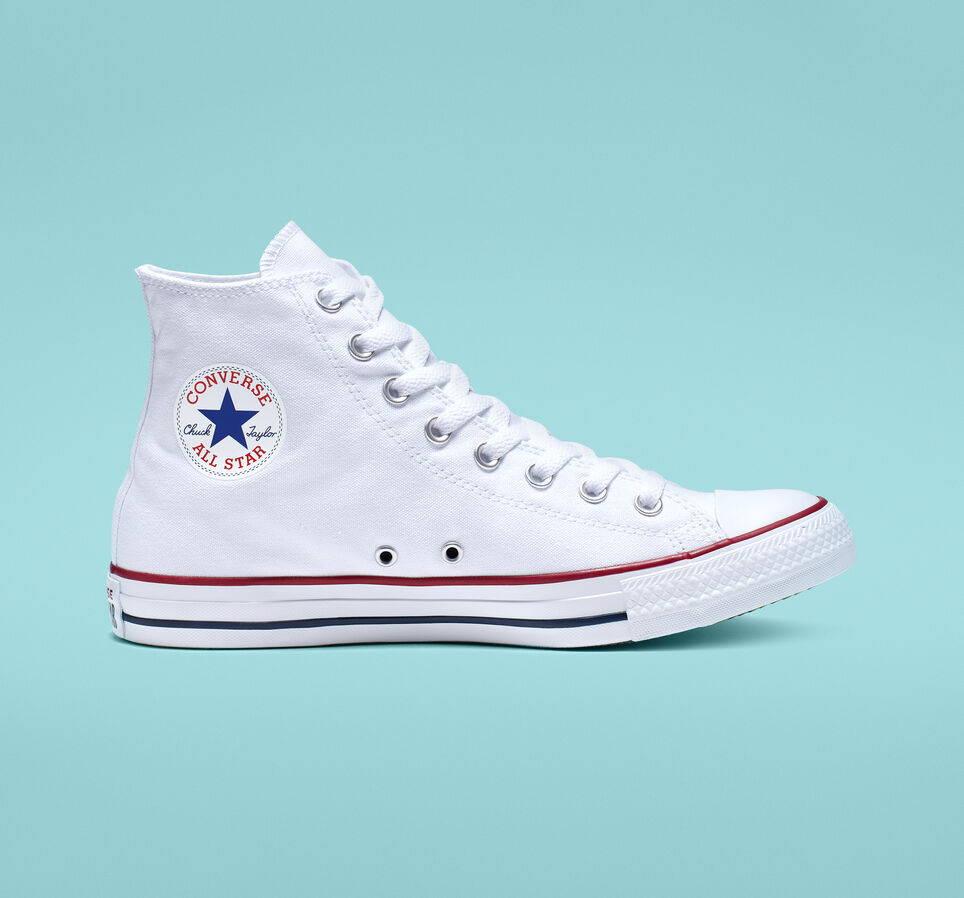 White Converse Chuck Taylor All Stars