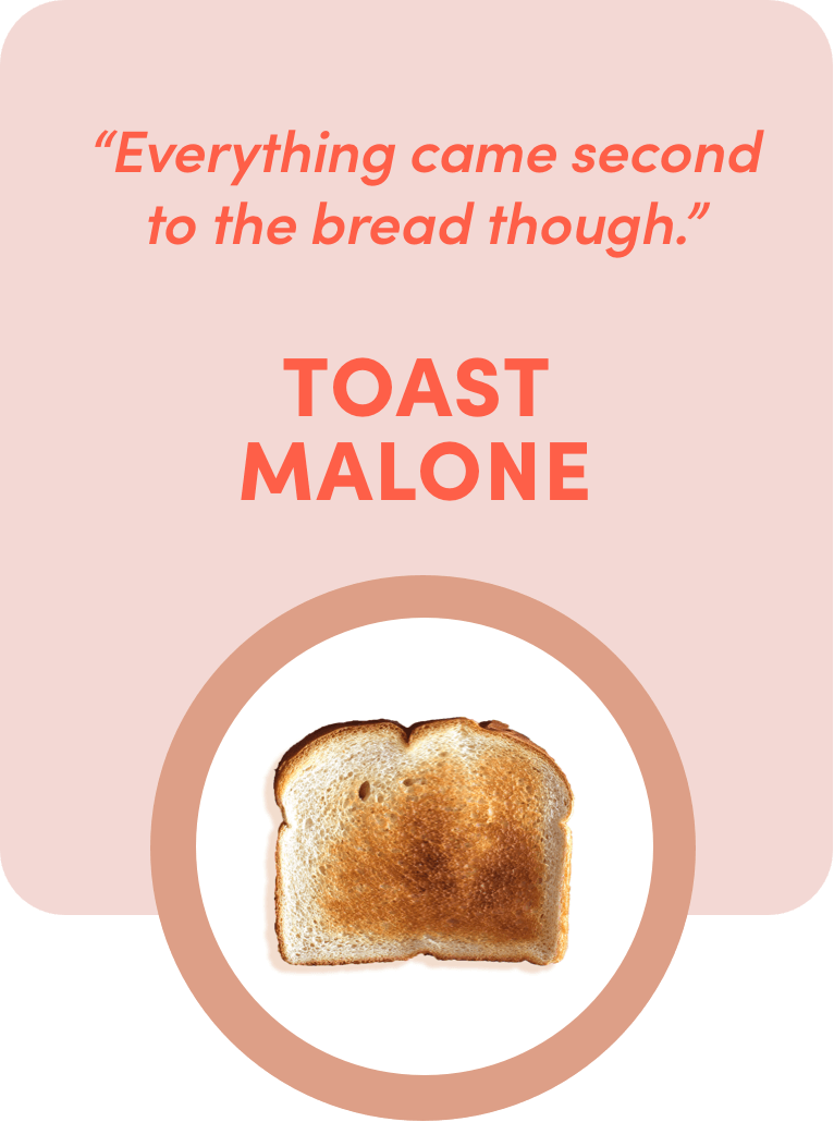 toast malone quote