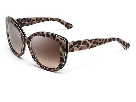 Dolce & Gabbana Women's Cat-eye Sunglasses