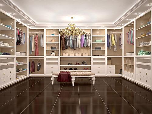 Interior Design: Begehbarer Kleiderschrank