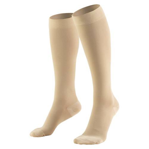 Knee High Closed Toe Medical Stockings