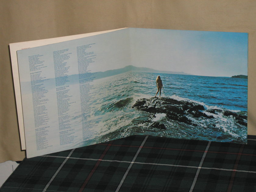 Joni Mitchell - For The Roses PROMO Asylum SD 5057 (1841 Broadway)