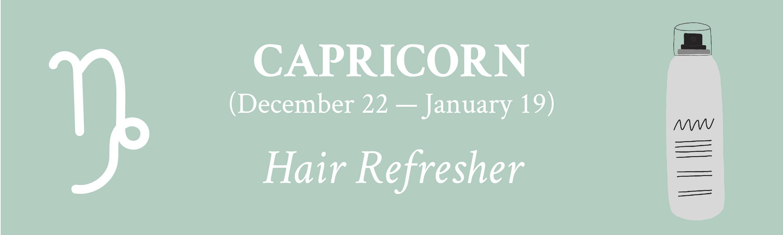 Davines for Capricorn Hair Refresher