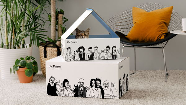 Cat Person Packaging
