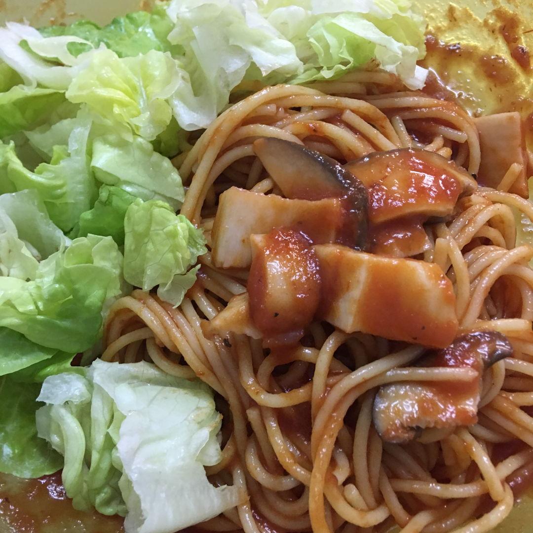April 13th, 20 - spaghetti by my gal