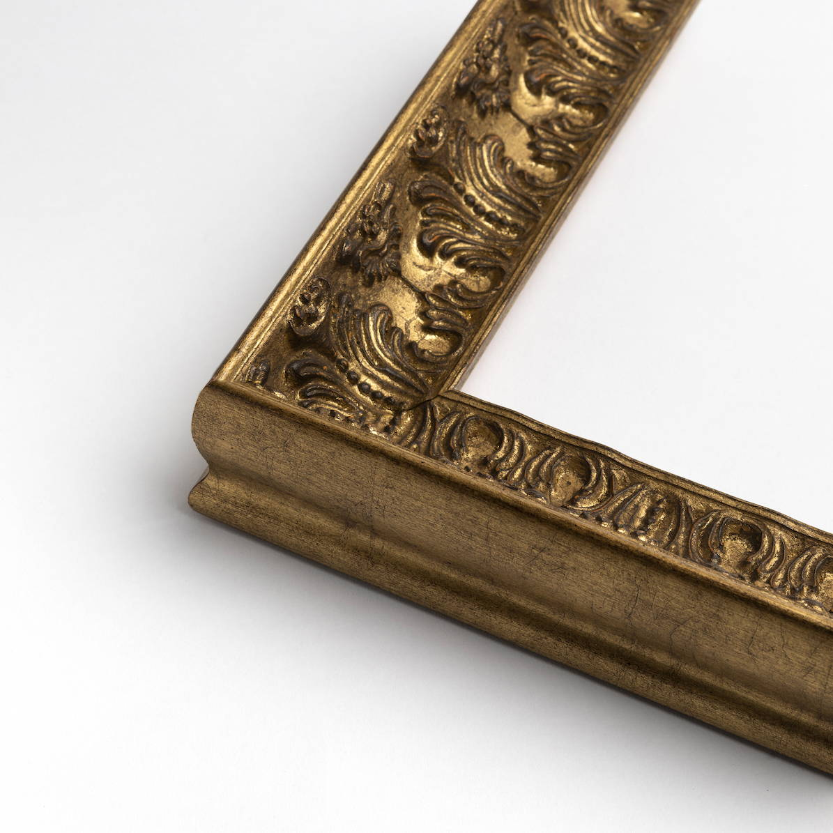 TV-Mirror Ornate Antique Gold Frame by FRAMING TO A T