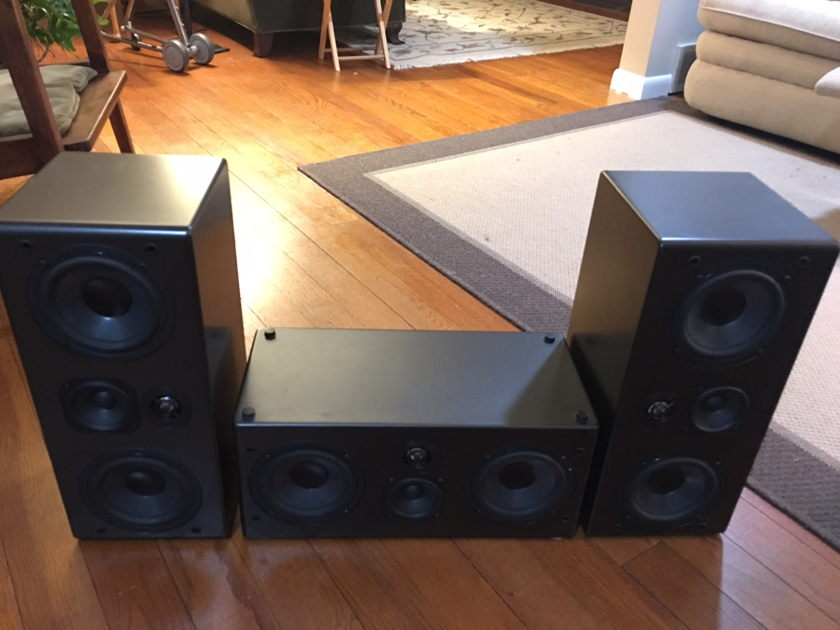 NHT Evolution M5 Set of three, from original owner.