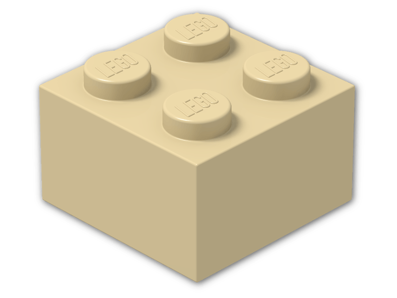 5—Brick Yellow  lego