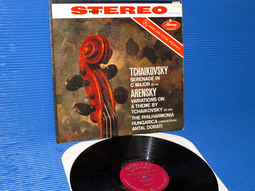 "TCHAIKOVSKY/Dorati -  - ""Serenade in C Major"" - Mercury Living Presence 1959 Early Pressing"
