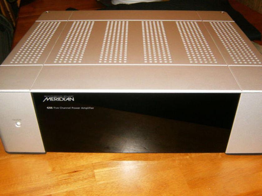 Meridian G 55  Multichannel Power Amp