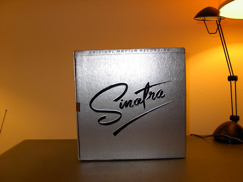 Frank Sinatra - Mobile Fidelity box set of  16 records including Geo-Disc.