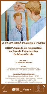 XXXV JORNADA DE PSICANÁLISE DO CPMG