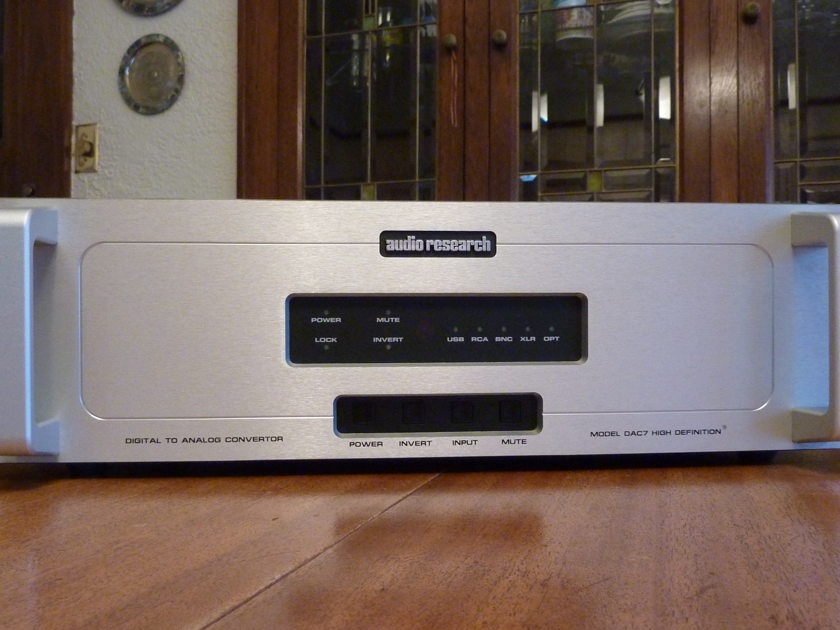 Audio Research DAC7 Silver