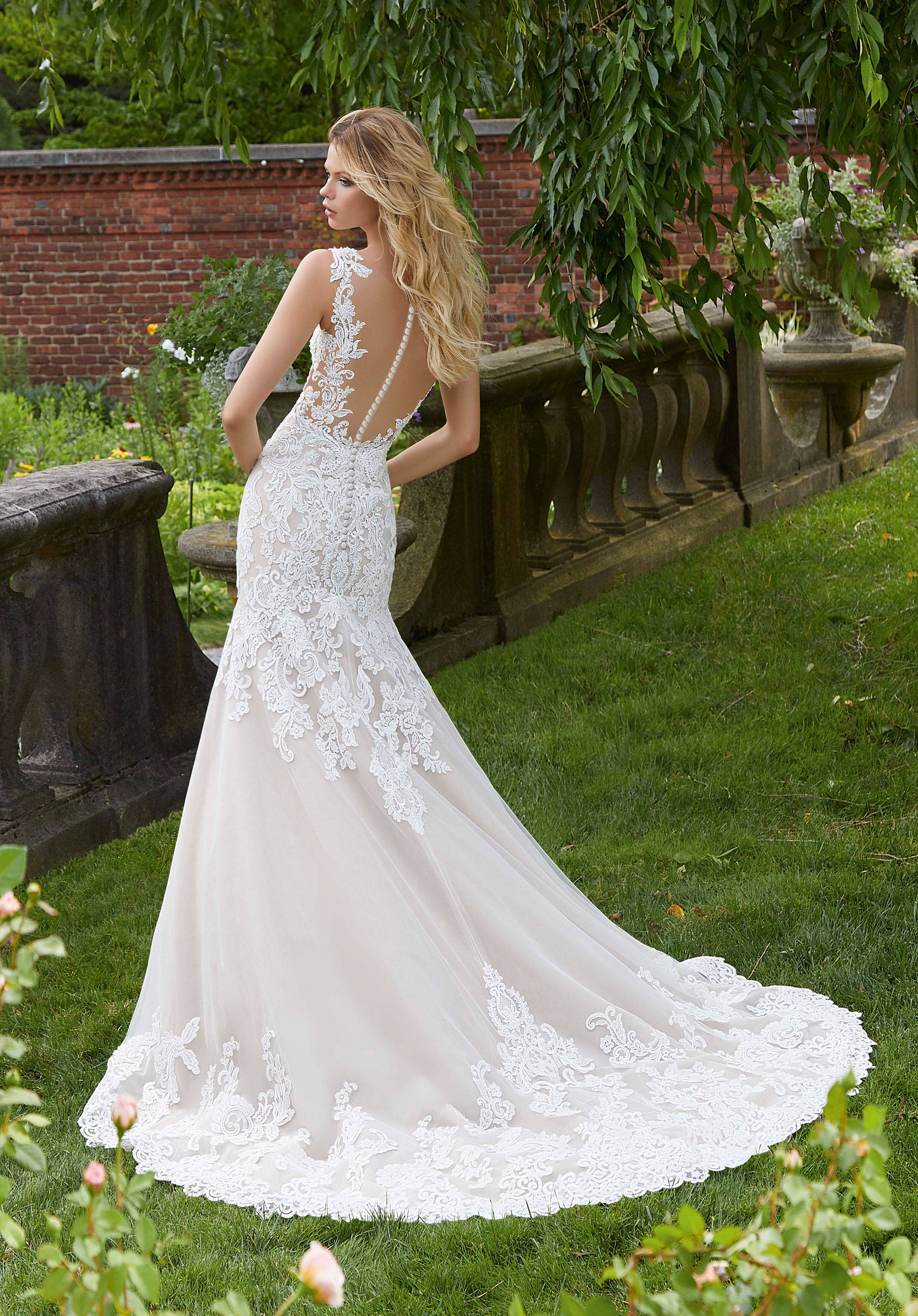 MORI LEE  WEDDING DRESS 2031