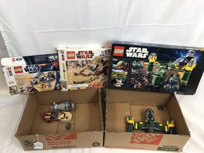 back yard sale lego