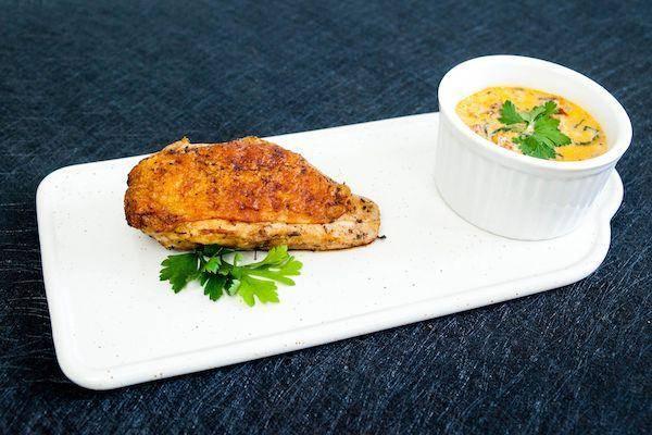 Keto Creamy Tuscan Chicken
