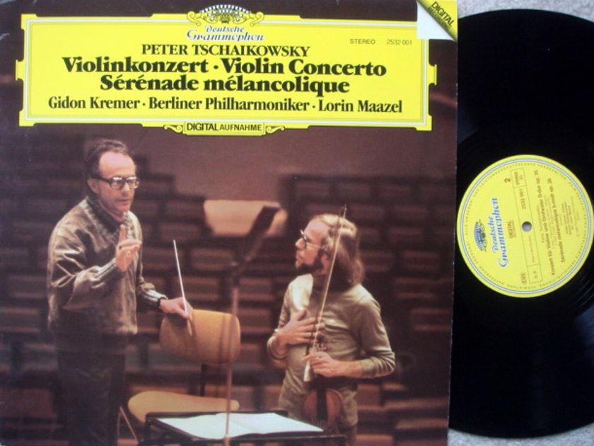 DG Digital / GIDON KREMER-MAAZEL, - Tchaikovsky Violin Concerto, MINT!