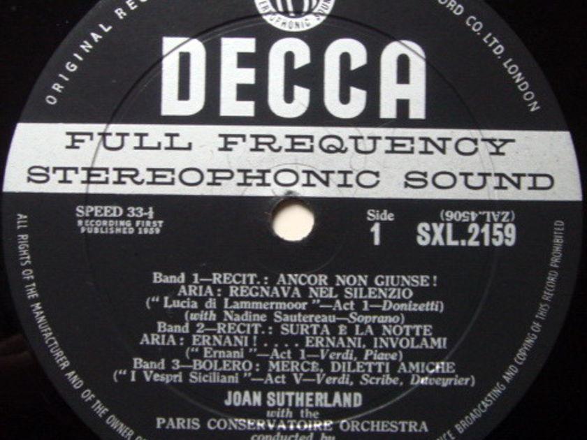 DECCA SXL-WB-ED1 / JOAN SUTHERLAND, - Operatic Arias, NM-!