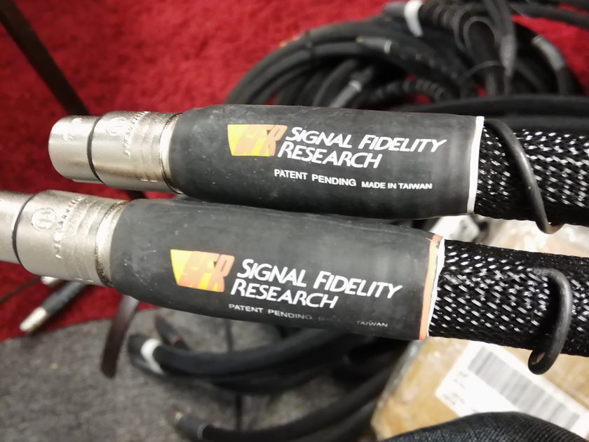 Signal Fidelity Research Signal Cables Formerly Sunny Cable a Stereotimes Favorite 3 Meter