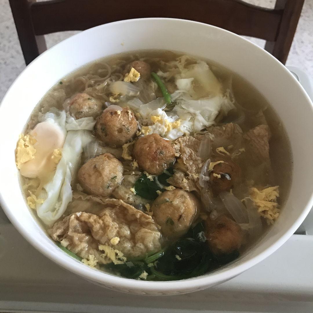 Homemade Yee Mee. Delicious & yummylicious 😆👍🏻