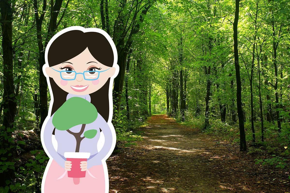 Durch deinen Kauf der Happy Mona Tampons unterstützt du unsere Projekte zum Pflanzen von Bäumen.