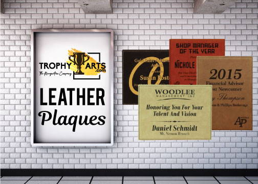 Leather Plaques